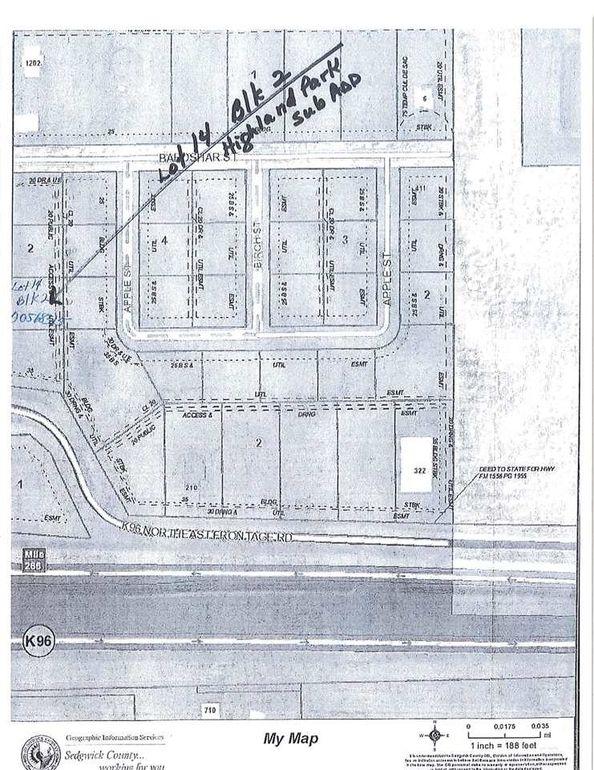 Blk 2 N 279th Unit Highland Sub Add St W Lot 14 Mount Hope, KS 67108