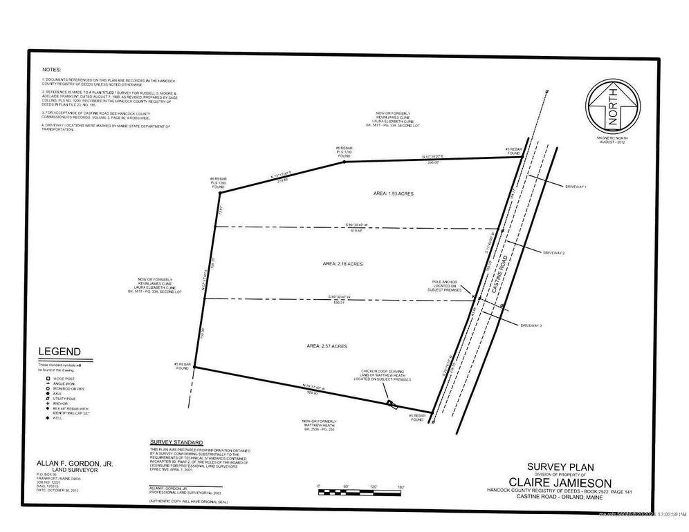 805 Castine Rd Lot 3 Orland, ME 04472