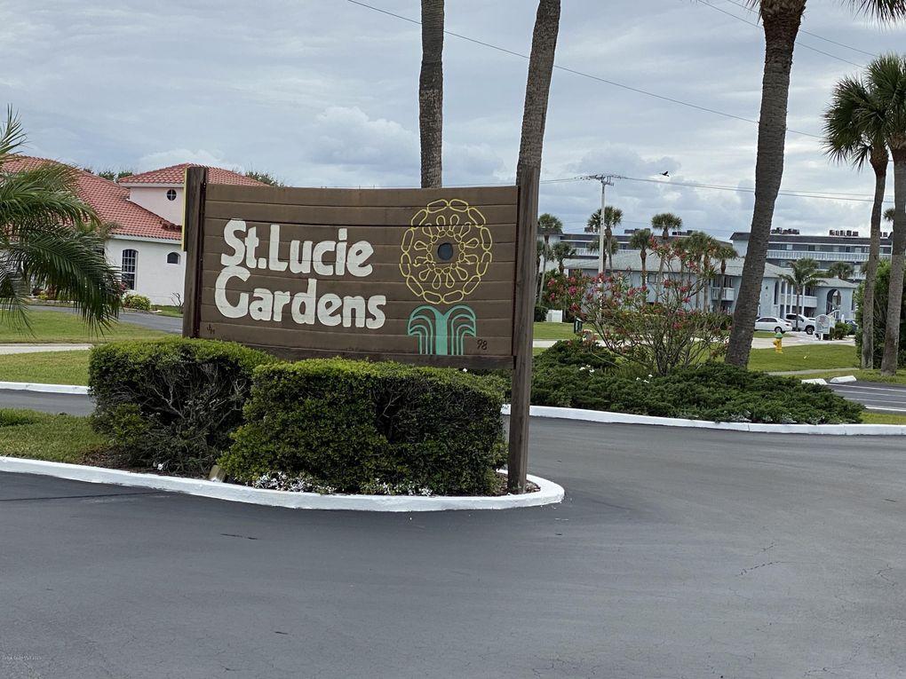 St Lucie Gardens Cocoa Beach Fl
