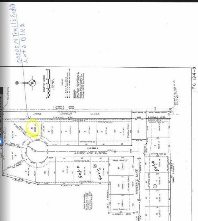 Blk 2 N Trails End Ct Unit Drovers 1st Add Xing Lot 6 Mount Hope, KS 67108