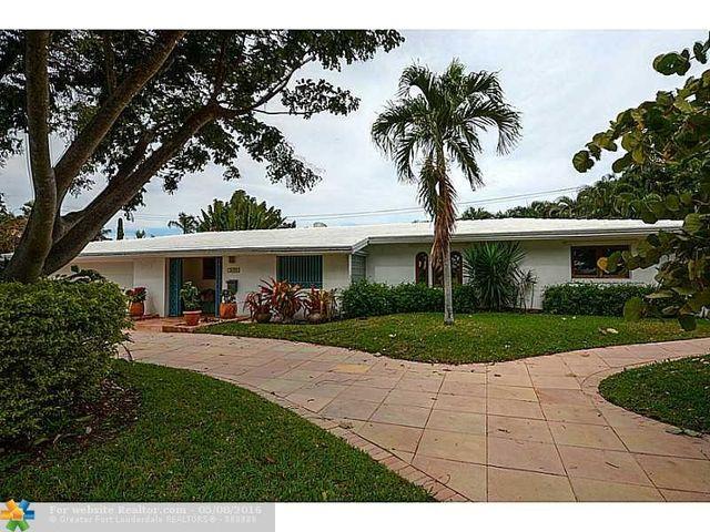 2633 Ne 34th St Fort Lauderdale FL 33306 3 Beds 2 Baths Home Details Re