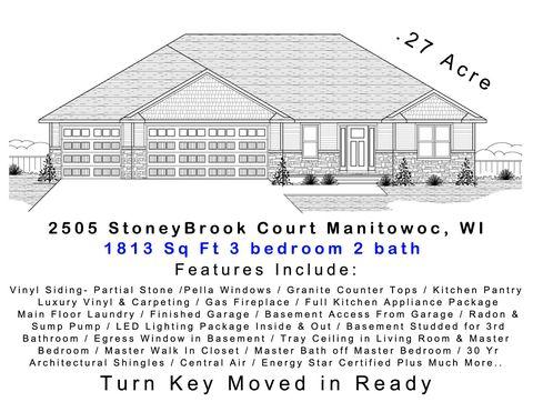 Photo of 2505 Stoney Brook Ct, Manitowoc, WI 54220