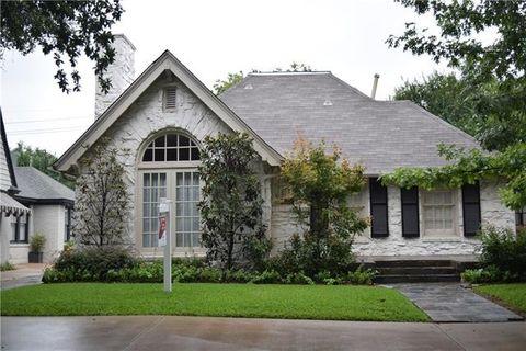 4524 Livingston Ave, Highland Park, TX 75205