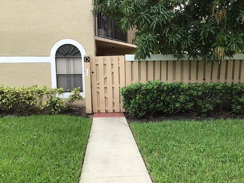 Photo of 3650 Village Dr Unit D, Delray Beach, FL 33445
