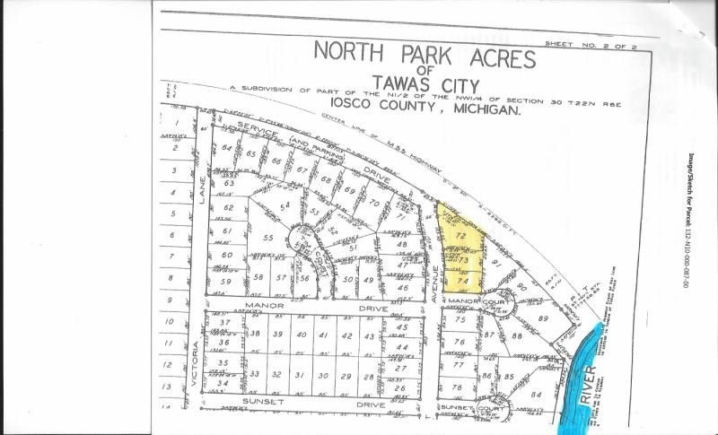 55 By Riv Lot 72-74, Tawas City, MI 48763
