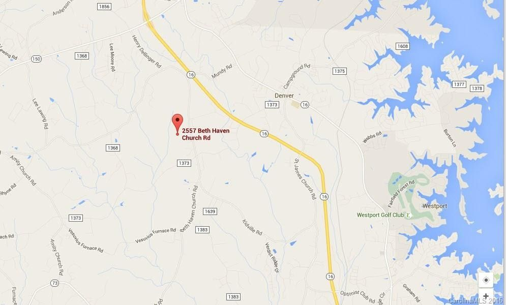 2557 Beth Haven Church Rd, Denver, NC 28037 - Land For Sale and Real Denver Real Estate Map on