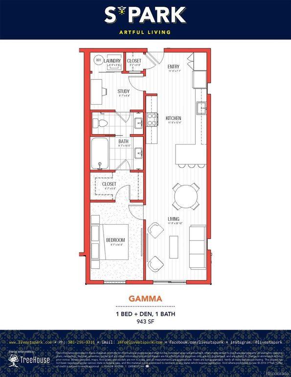 2560 Lawrence St Unit C105, Denver, CO 80205