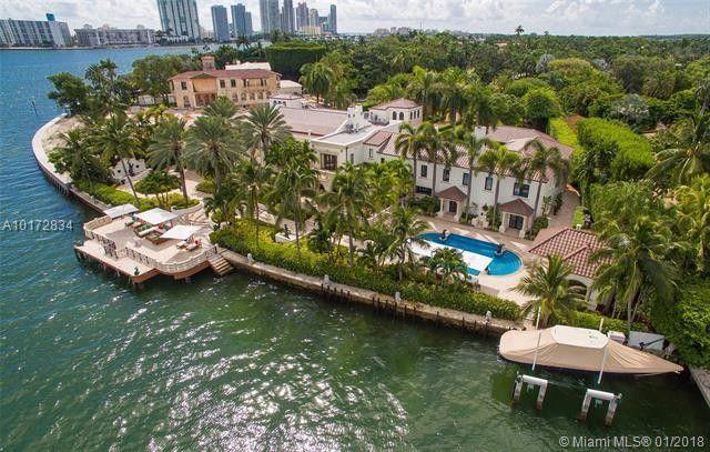 46 star island dr miami beach fl 33139 for Star island miami houses