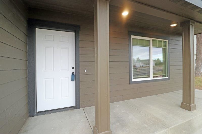 1018 S Pillar Rock Rd, Spokane, WA 99224 Mobile Home Exterior Improvements Rock Pillars on