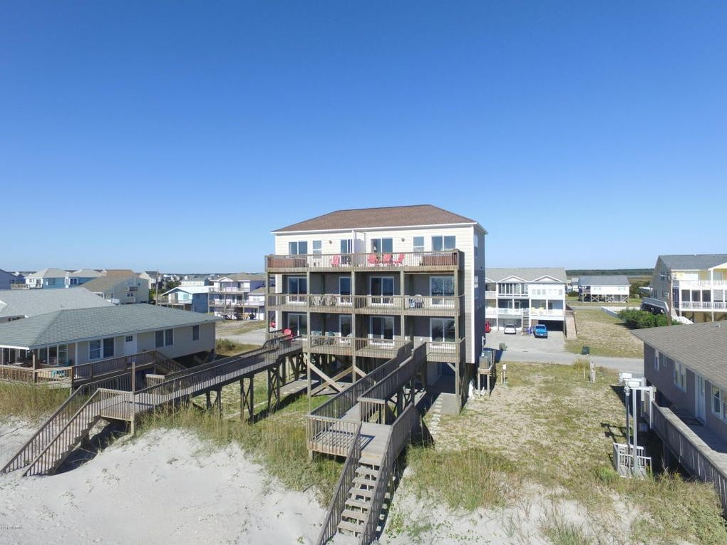 Topsail island real estate sales and vacation rentals for Ward builders nc