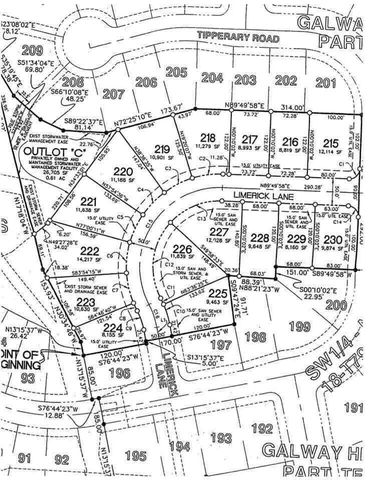H And M Galway Address Galway Hls Lot 230, Iowa City, IA 52246 - Land For Sale and Real ...