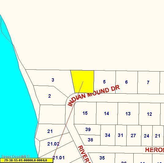 Map Of Melbourne Beach Florida.350 Indian Mound Dr Melbourne Beach Fl 32951 Recently Sold Land