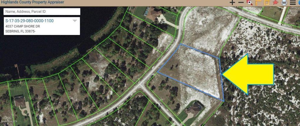 4037 Camp Shore Dr Sebring FL Land For Sale and Real