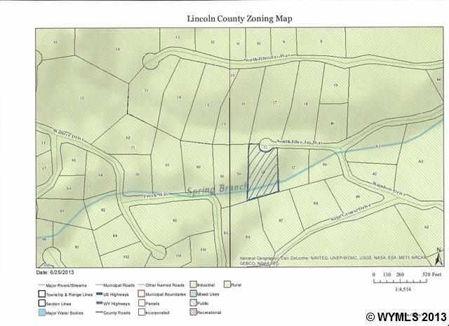 Kemmerer Wyoming Map.Spring Canyon Rnch Lot 58 Kemmerer Wy 83101 Realtor Com