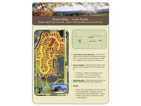 1203 Prairie Ridge Ln, Lester Prairie, MN 55354