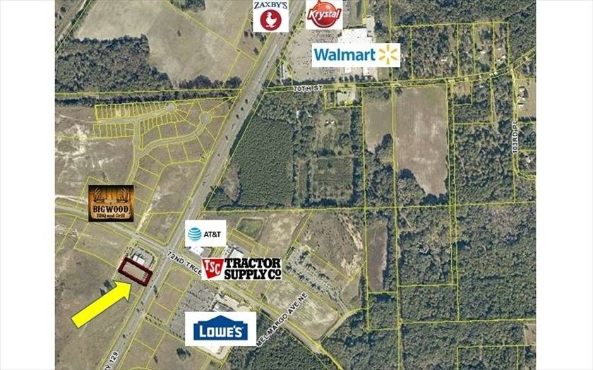 Us North Live Oak FL Land For Sale And Real Estate - Us 129 map