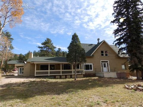 9620 chipita park rd cascade co 80809 land for sale and real estate listing