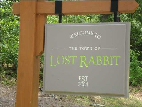 Image result for lost rabbit sign