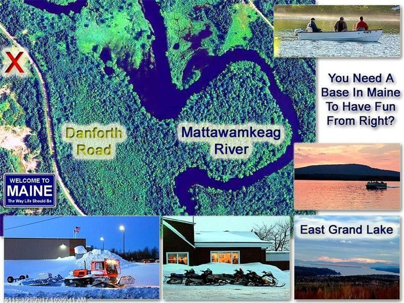 Danforth Maine Map.211 Danforth Rd Haynesville Me 04497 Realtor Com