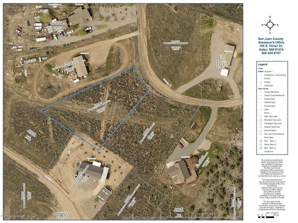 Nya M 2393 Rd Lot 1, Aztec, NM 87410