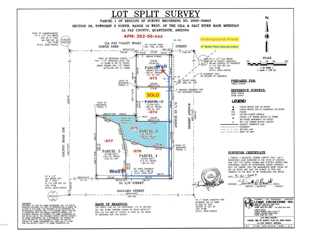 Avenue 23 1/4 Lot 3, Quartzsite, AZ 85346 - Land For Sale and Real on