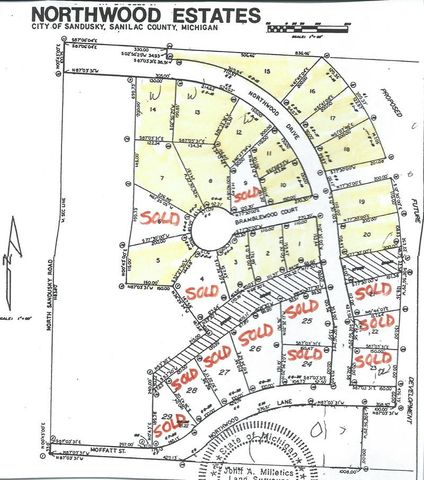 Northwood Ests Sandusky Mi 48471 Land For Sale And Real Estate