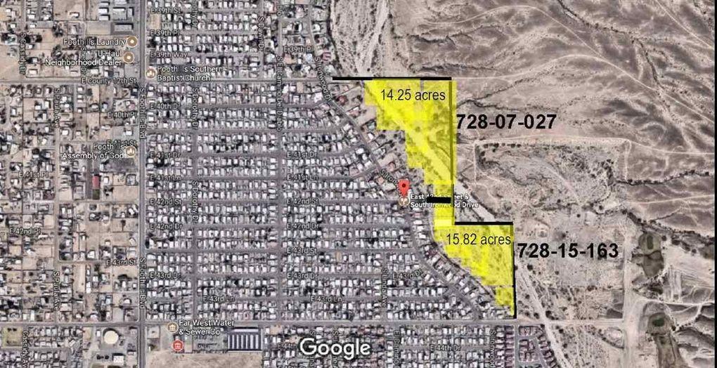 42nd Street E Ironwood Dr Yuma, AZ 85367