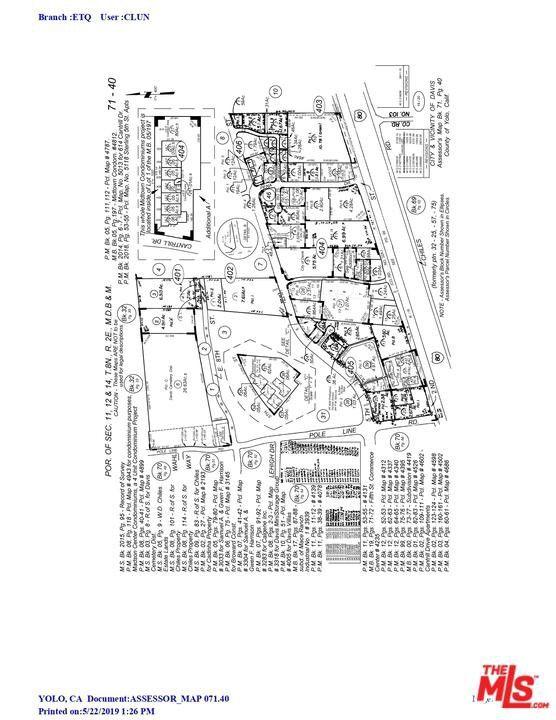 Davis Ca Map on