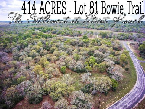 Bowie Trl Lot 81, Luling, TX 78648