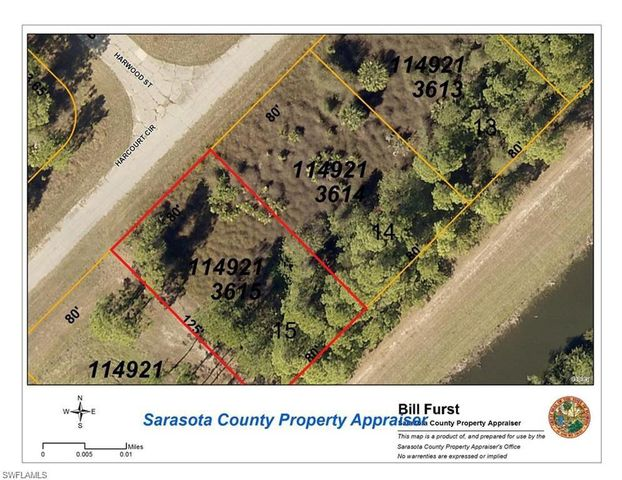 North Port Florida Map.Harcourt Cir North Port Fl 34288 Land For Sale And Real Estate