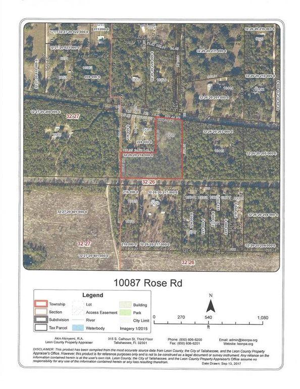 10087 Rose Rd, Tallahassee, FL 32311