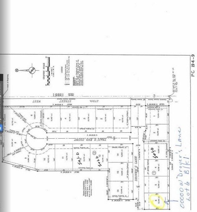 Blk 1 N Drovers Ln Unit Drovers 1st Add Xing Lot 6 Mount Hope, KS 67108