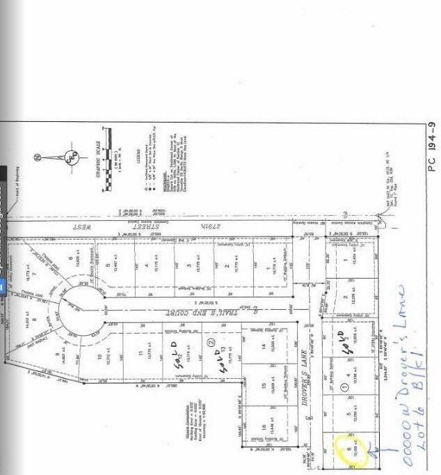 Blk 1 N Drovers Ln Unit Drovers 1st Add Xing Lot 6 Mount Hope, KS 67108