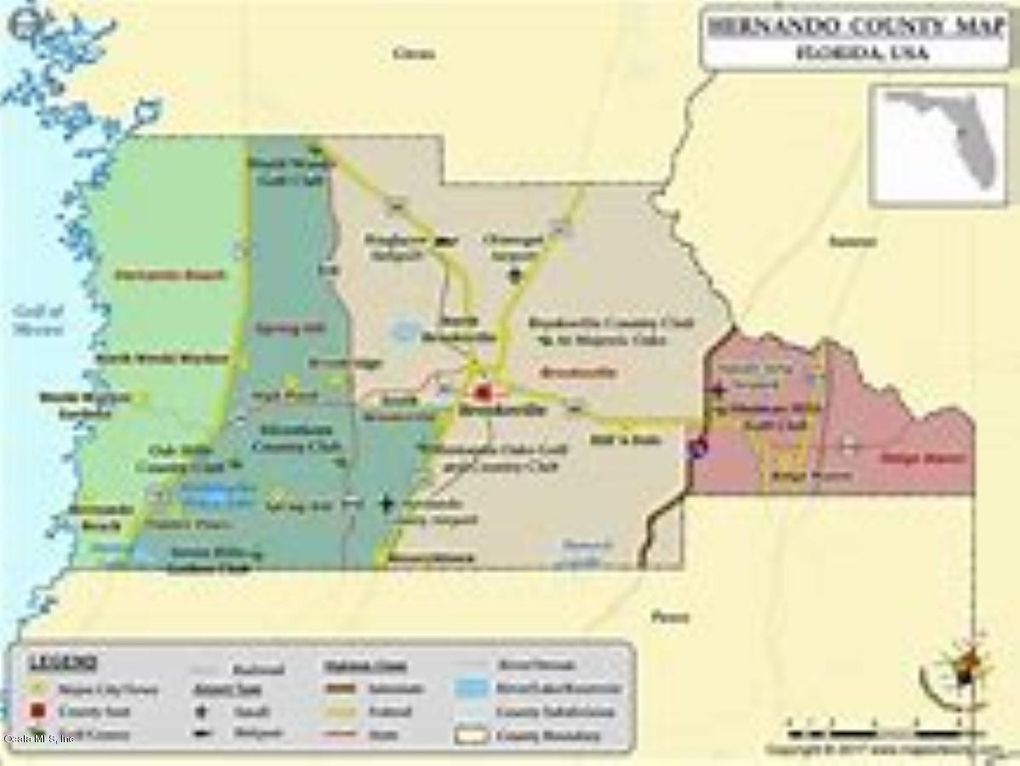 Hernando Florida Map.6286 E Gina Lynn Path Hernando Fl 34442 Land For Sale And Real