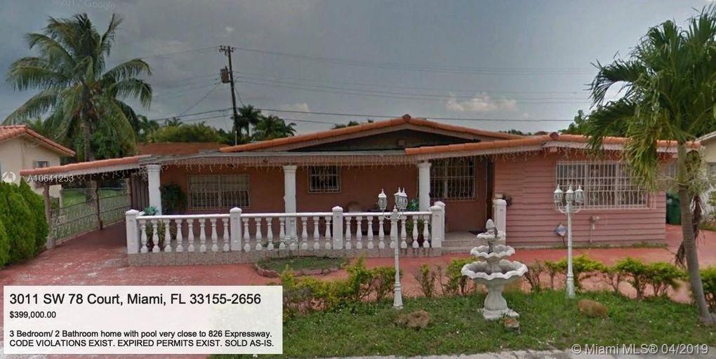 3011 Sw 78th Ct, Miami, FL 33155
