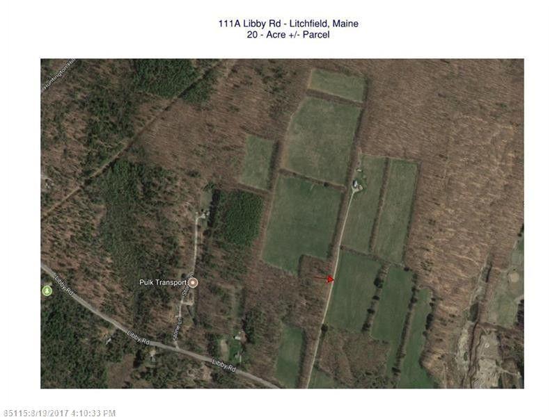 Litchfield Maine Map.111 A Libby Rd Litchfield Me 04350 Realtor Com