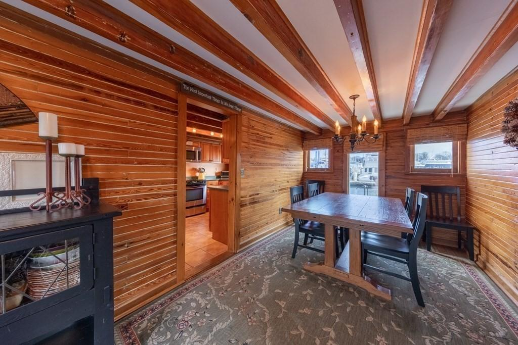 Dining room featured at 50 Fort St Unit 1, Fairhaven, MA 02719