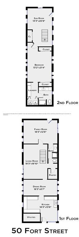 Floor plan featured at 50 Fort St Unit 1, Fairhaven, MA 02719