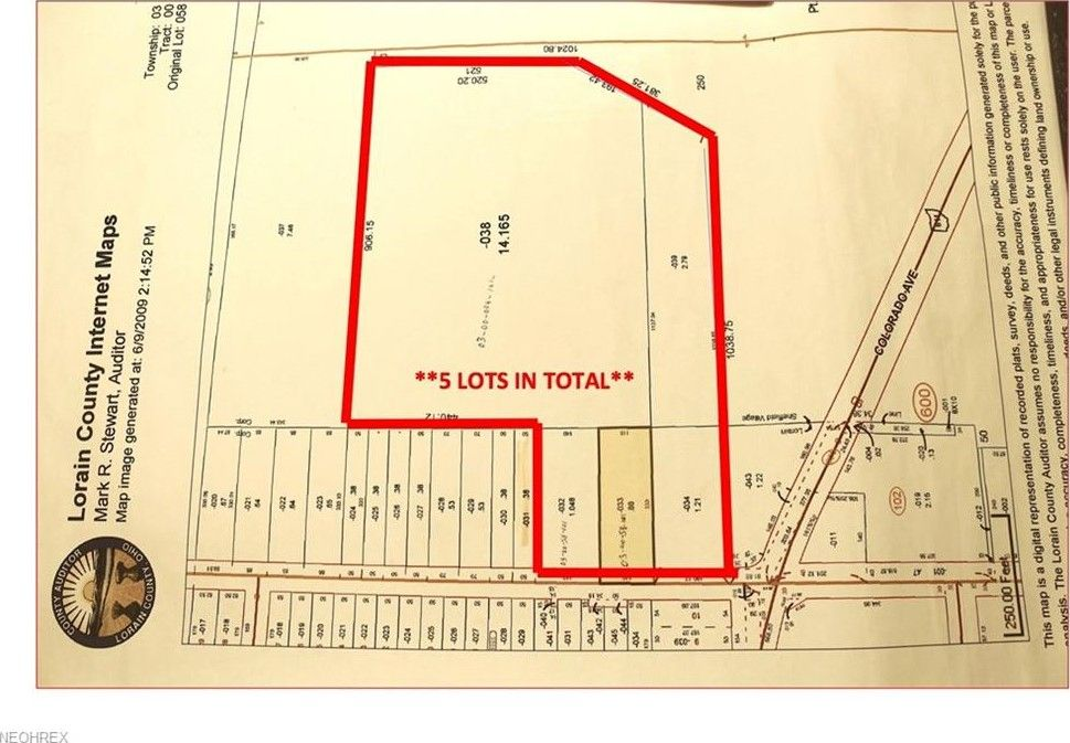 Root Rd Lorain OH 44052 Land For Sale and Real Estate Listing