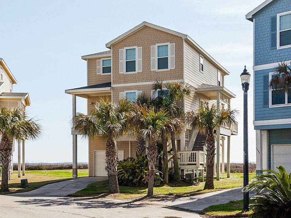 Galveston West Beach Home Rentals