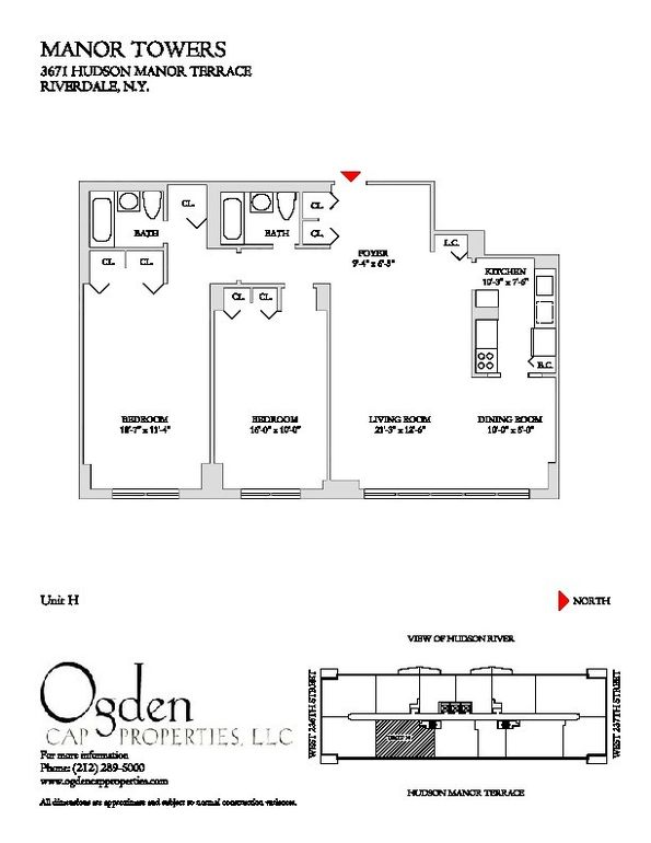 3671 hudson manor ter apt 15 h bronx ny 10463 home for for 3671 hudson manor terrace