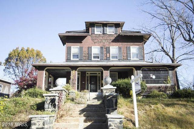 Property Value Baltimore City