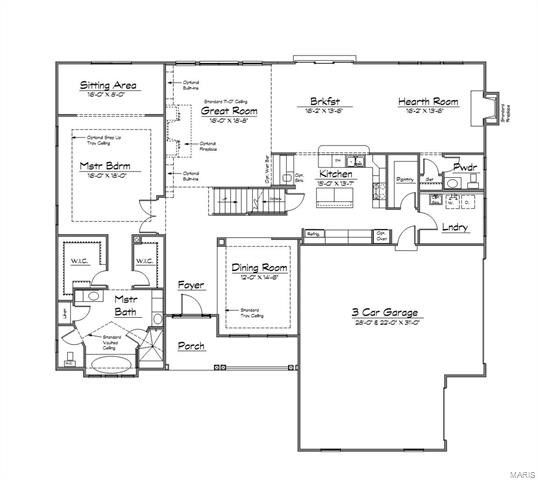 2 Bblt The Turnberry-chandler Rdg, Des Peres, MO 63131