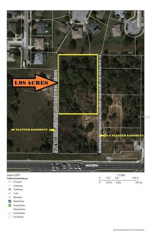 Clermont Florida Map.East Highway 50 Clermont Fl 34711 Recently Sold Land Sold