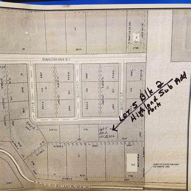 Block 2 Apple St Unit Highland Sub Add Park Lot 5 Mount Hope, KS 67108