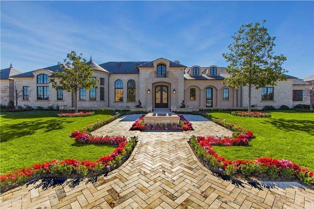 24100 hidden ridge rd hidden hills ca 91302 for 1 story mansion