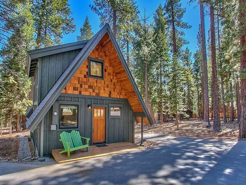 495 woodchuck dr carnelian bay ca 96140 for Log cabin builders in california