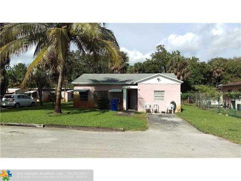 Osborne Park Fort Lauderdale FL 2 Bedroom Homes for Sale