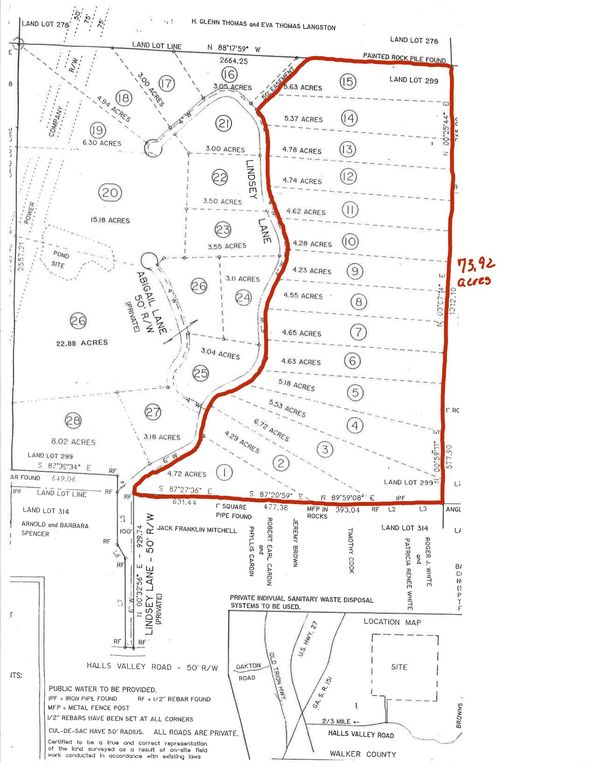 Halls Valley Rd Trion Ga 30753 Land For Sale And Real Estate