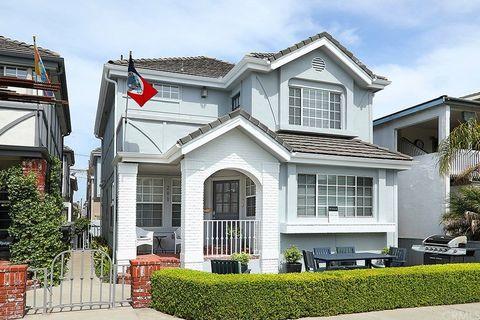 203 Agate Ave Newport Beach Ca 92662 House For